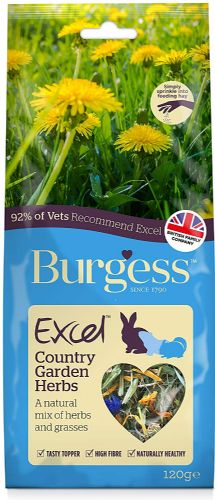 Burgess Excel - Nature Snack - Country Garden Herbs - 120gm